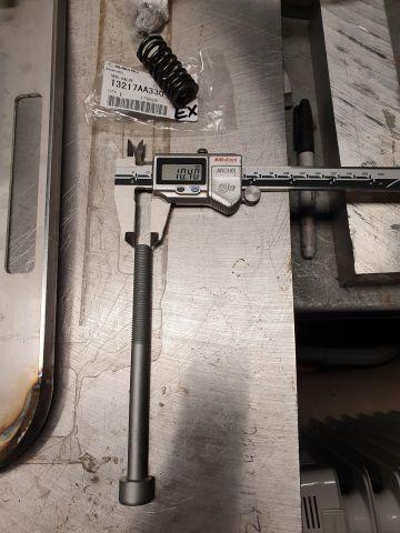 EZ30R head bolt - M10.5x1.25