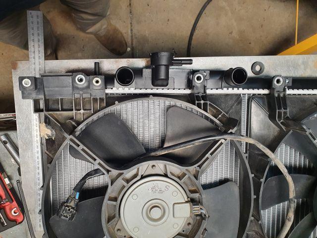outback gen2 ez30 radiator + gen4 fans